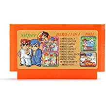 HITSAN 11 In 1 8 Bit Game Cartridge Classic Blood Series Games For NES Nintendo FC One Piece [video Game]
