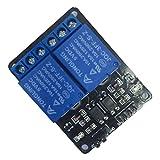 Sweepid 5V 2 Kanal Relais Modul Schild Elektronisch für Arduino Arm Pic AVR DSP MCU Optokoppler Spannungsregler