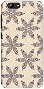 The Racoon Grip printed designer hard back mobile phone case cover for Htc One A9S. (Pink Henna)