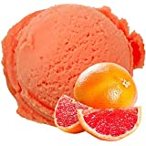Grapefruit flavor vegan - no sugar soft ice cream powder - For Soft ice machine - 1: 3 - 1 kg