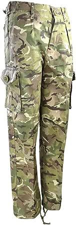 Kombat UK Kid's Combat Trousers, British Terrain Pattern, 11-12 Years