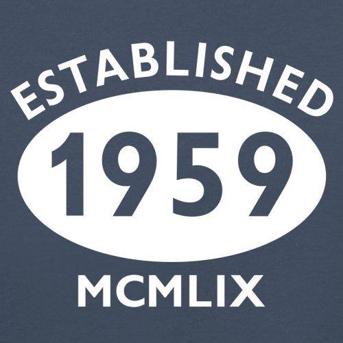 Gegründet 1959 Römische Ziffern - 58 Geburtstag - Herren T-Shirt - 13 Farben Navy