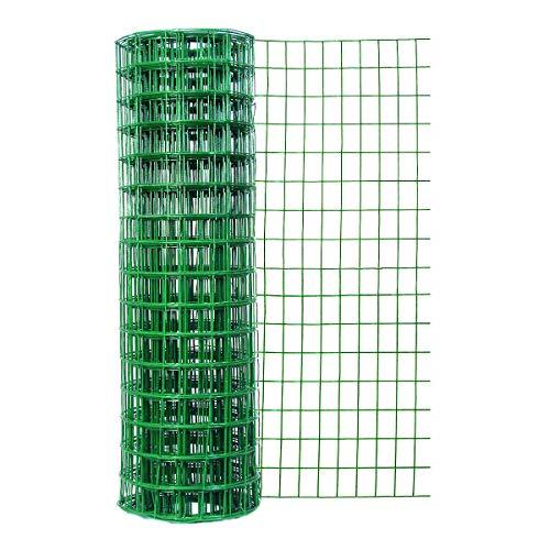 Origin Point 024x 50-foot grün Vinyl Zaun mit 3Zoll x 2Zoll Öffnungen -