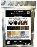 100% Natural Keratin Hair Fibre Refill For Hair Loss - Alopecia & Chemotherapy (50g, Meduim Brown)
