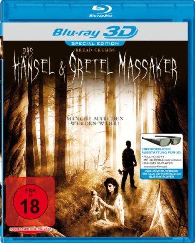Preisvergleich Produktbild Bread Crumbs - Das Hänsel & Gretel Massaker (Real 3D) [3D Blu-ray] [Special Edition]
