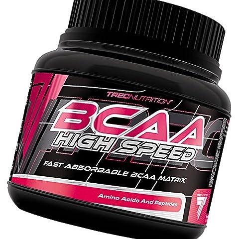 BCAA High Speed 130g - Crecimiento de Ultimate, Fuerza y Recuperación Fórmula - Un matrix soluble de aminoácidos BCAA - Trec Nutrition (cerezo - pomelo)