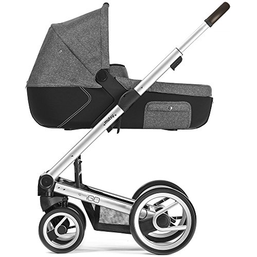 Mutsy Kinderwagen IGO - Reflect white & black / silver - Modell 2016