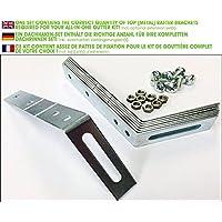 Top Rafter Bracket Set for PVC & zinc gutters (1,5 mm (for Plastic guttering) > shed roof)