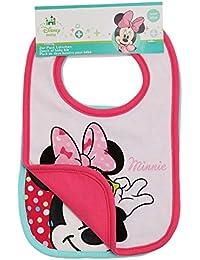 Disney Minnie Babies Bavoirs : lot de 2 2016 Collection - fushia