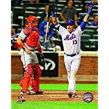 Asdrubal Cabrera 2016 Action Photo Print (20,32 x 25,40 cm)