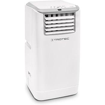 Climatiseur local monobloc TROTEC PAC 4100 E de 4,1 kW / 14.000 Btu pour pièces de 54 m²/135 m³ max., classe énergétique A