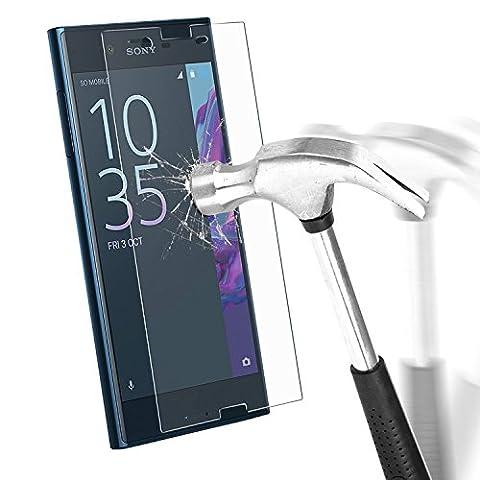 Protection écran Sony Xperia XZ, EnGive Film de Protection d'écran en Verre Trempé Pour Sony Xperia XZ