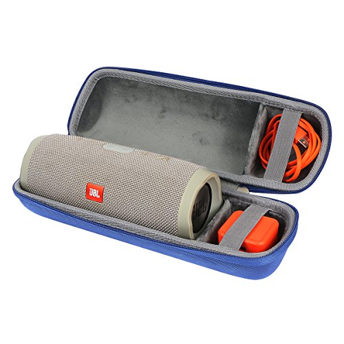 Hart Reise Schutz Hülle Etui Tasche für JBL Charge 3 Tragbarer Bluetooth-Lautsprecher und USB-Kabel Ladegerät von co2CREA