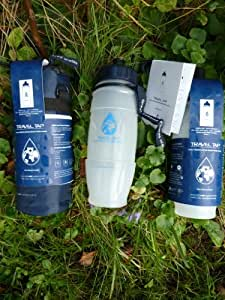 NEW 2019 Travel Tap 800 ml ' Pull Top ' pure water filter