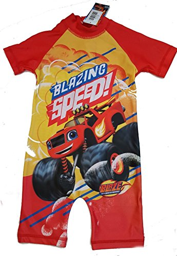 Blaze and the monster machines Sun Protection UV protection Swim Suit Sunsafe