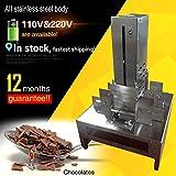 Yoli® Express Shipping, blocco di cioccolato commerciale Shaving Machine/Chocolate affettatrice/cioccolato raschiare macchina
