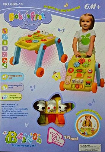 Saving Basket Baby 2-in-1 Activity Walker
