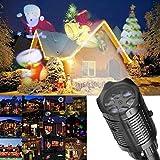 Weihnachten Outdoor Und Innen Bewegliche LED Projektor Lampe Licht Lichterkette Party Atmosphäre Lampe Led Projektor Lampe das coolste Weihnachtsgeschenk für kinder Mini Full HD Lichteffekt Strahler