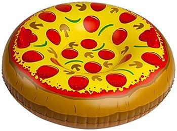 Bigmouth Inc Giant Supreme Pizza Snow Tube 0