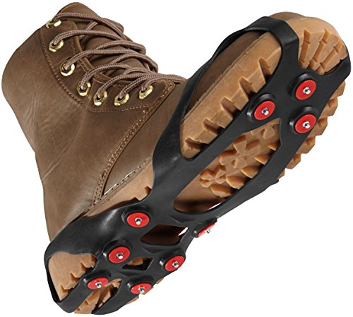 Schuhspikes (Gr. 41-45) (Auf Winter Schnee Stiefel Ziehen)