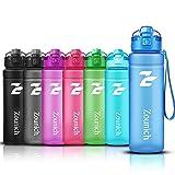 ZOUNICH Borraccia Sportiva BPA Free Tritan Plastic 500ml / 17oz, 700ml / 24oz /, 1000ml / 32oz-Bottiglia da Palestra Riutilizzabile Ideale da Corsa, Ciclismo, Scuola, Viaggi e Altro
