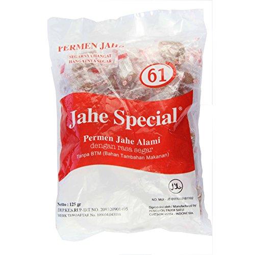 Jahe 61 Permen Special - Gingembre Candy, 125 Gram