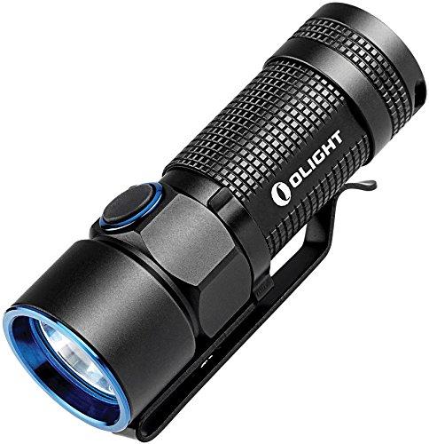 OLIGHT S10R Baton III Taschenlampe, Schwarz, S