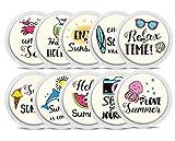 Freestyle Libre Sticker - 10er Set'Summertime' | Diasticker