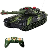 #4: VG Toys & Novelties Infrared Remote Control War Tank - Full Function - Rechargeable - SHOOTING MODE (27 MHz)