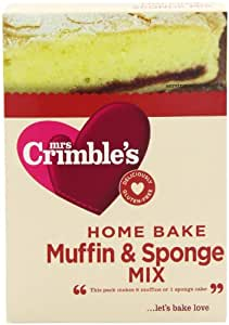 Mrs Crimble's Muffin and Sponge Mix 200 g (Pack of 5)