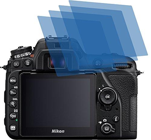 4x ANTIREFLEX matt Schutzfolie für Nikon D7500 Premium Displayschutzfolie Bildschirmschutzfolie Schutzhülle Displayschutz Displayfolie Folie