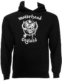 Sweat à capuche officiel MOTORHEAD-ENGLAND Rugby-Pull à capuche avec Logo en métal pour femme Toutes tailles