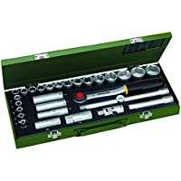 Proxxon 23000 Steckschlüsselsatz 1/2 Zoll, 29-teilig