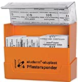Söhngen Pflasterspender gefüllt (Wundverbandpflaster) - inkl. Wandhalterung, Farbe orange - 1009910