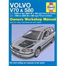 Volvo V70 and S80 Petrol and Diesel Service and Repair Manua: 1998 to 2005 (Haynes Service and Repair Manuals)