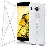 MoEx LG Google Nexus 5X Hülle Silikon Transparent Klar