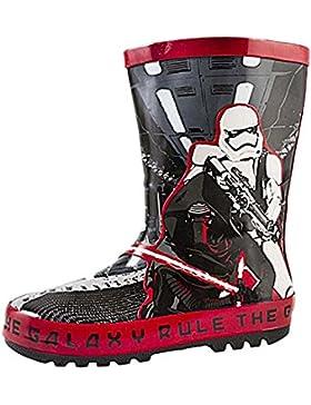 Disney Star Wars Darth Vader para niños Botas de lluvia botas de agua botas Tamaño UK 7–1