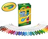 CRAYOLA Super Tips Washable Markers-Assorted Colors 50/Pkg