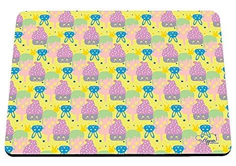 Pop Art Costume Comic Strip - Hippowarehouse Cute Kawaii Cupcake Motif lapin Imprimé