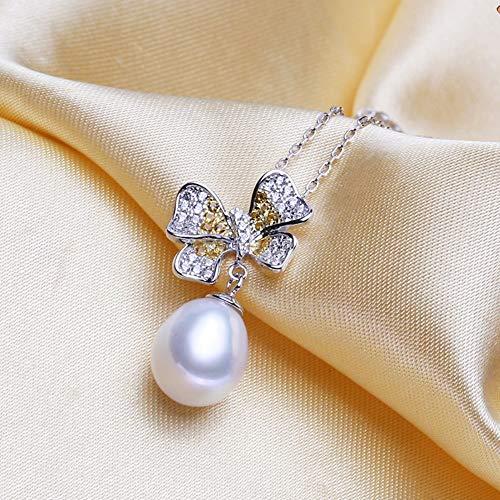 1198044ca6af Traje De Perla Sterling Silver Aretes Colgantes Mujer Anillos Joyería  Sencillez Moda Arco Temperamento Alto Grado