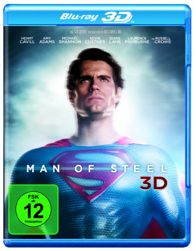 Superman Snyder Zack Kostüm - Man of Steel 3D [3D Blu-ray]