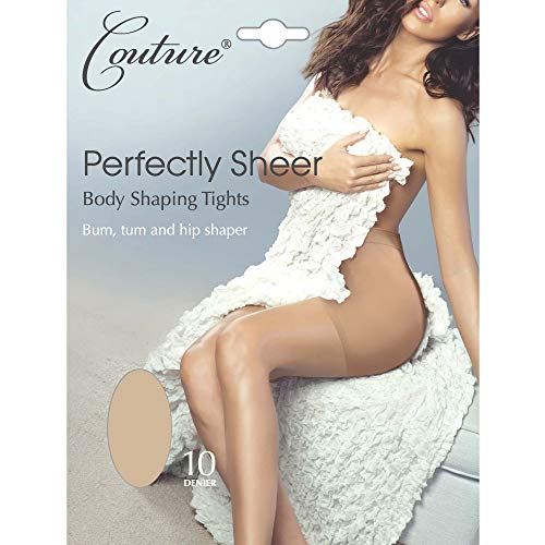 Couture Damen Perfectly Sheer Body Shaping Strumpfhose (1 Stück) (Medium) (Nude) Couture Sheer