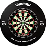 WINMAU Dartboard Surround, schwarz
