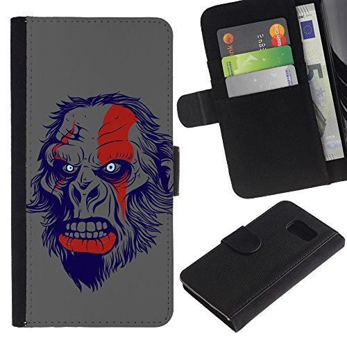 omega-case-samsung-galaxy-s6-sm-g920-the-evil-monkey-ape-apes-planet-cuir-pu-portefeuille-coverture-