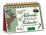 Der ultimativ knifflige Advents-Rätsel-Kalender: 24 x Ratespaß bis Weihnachten (Rätsel-Adventskalender) - Norbert Golluch