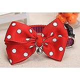 Hund Bow Ties verstellbare Bowties für kleine Hunde Welpen Katzen Party Hundehalsband