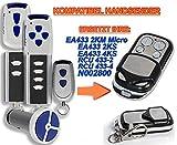 NORMSTAHL EA433 2KM, EA433 2KS, EA433 4KS, RCU433-2, RCU433-4, N002800 Kompatibel Handsender, 433.92Mhz rolling code keyfob Bild