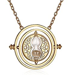 Via Mazzini Famous Harry Potter Time Turner Necklace For Unisex