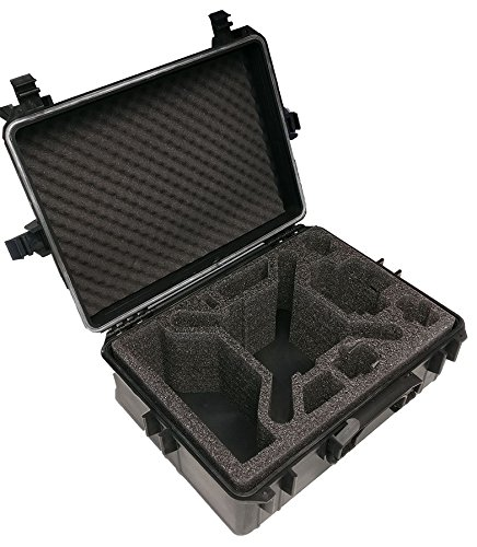 Hartschalen Koffer passend für den DJI Phantom 4 und DJI Phantom 4 Professional sowie Phantom 3 Adv und Pro mit angeschraubten Propellern und viel Zubehör von MC-CASES - 6