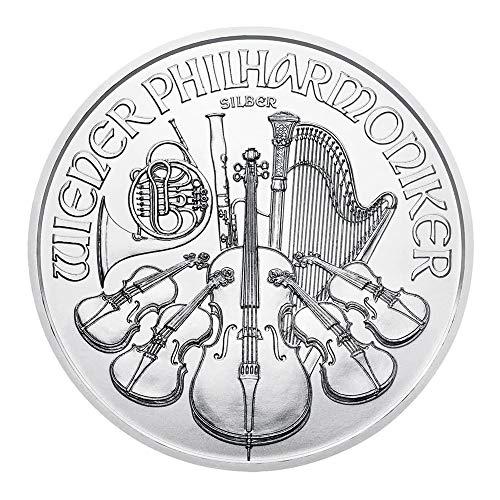 1 OZ Silber Silver Münze 1 UNZE - Philharmoniker 2019 gebraucht kaufen  Wird an jeden Ort in Deutschland